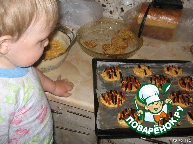 """Творожно-морковное печенье """"Тигрeнок"""""""