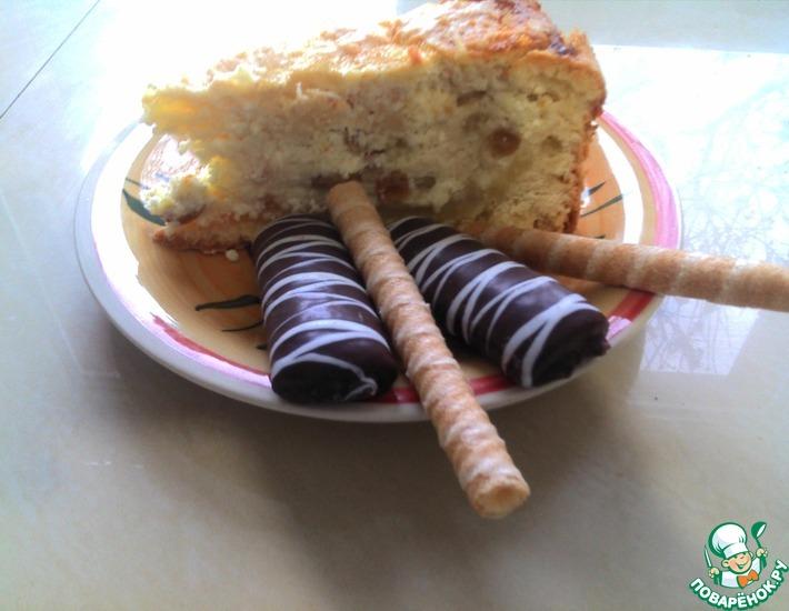 Рецепт: Пирог творожный