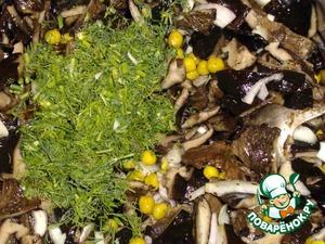 Салат из соленых грибов – кулинарный рецепт