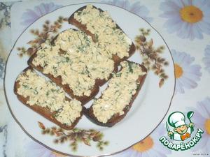 Шаг № 4: Намазываем на хлеб.