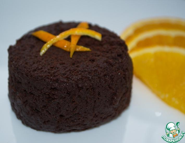 Рецепт: Шоколадный мини-тортик