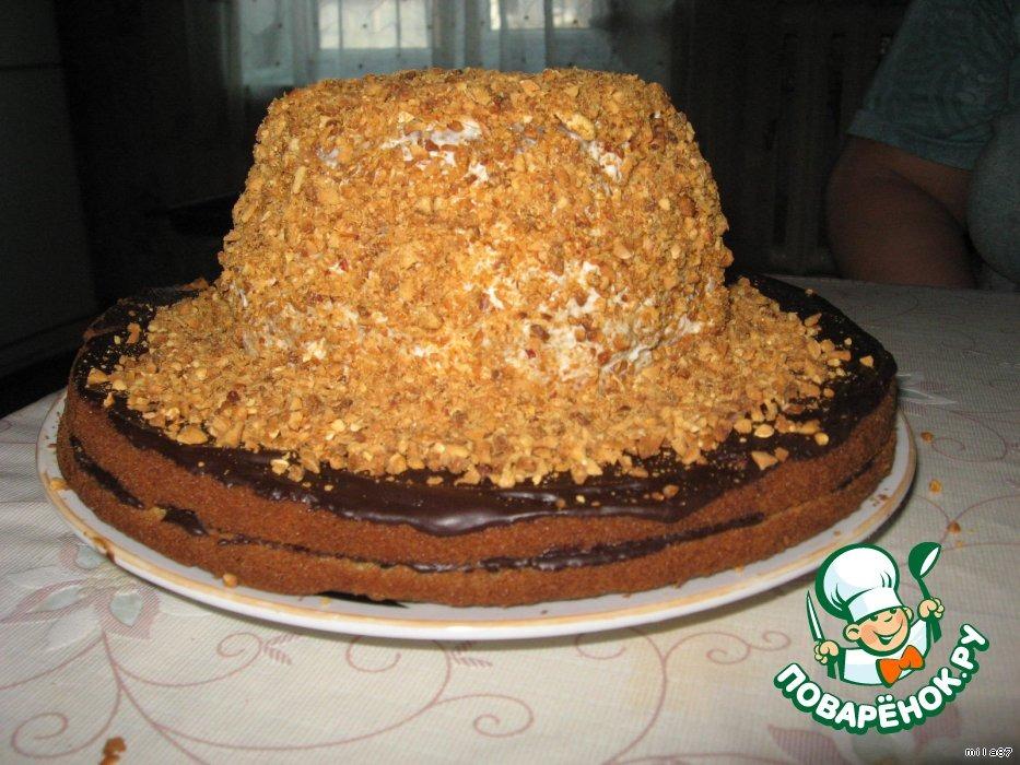Тортик Волшебная шляпка