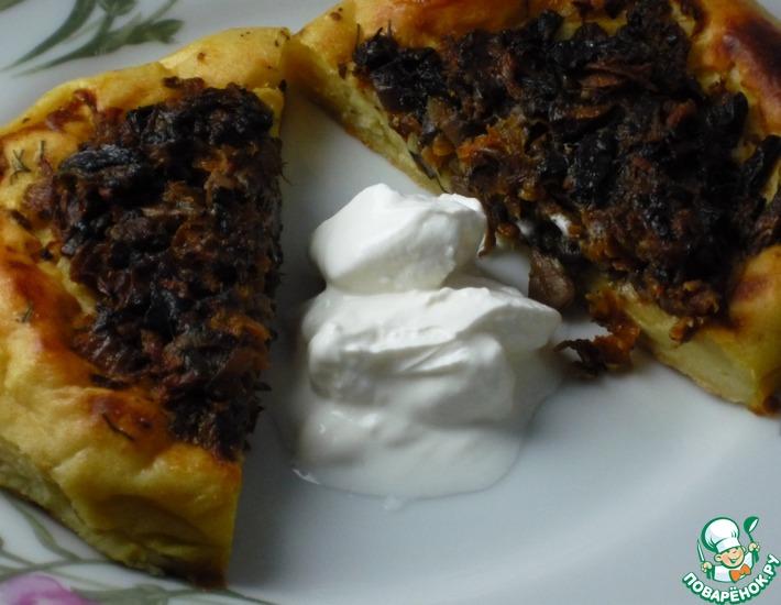 Рецепт: Солнечные картофельные ватрушки
