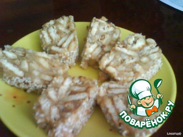 Сладкая колбаска из карамелек