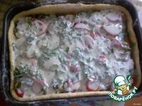 Заливной пирог с грибами и картофелем ингредиенты