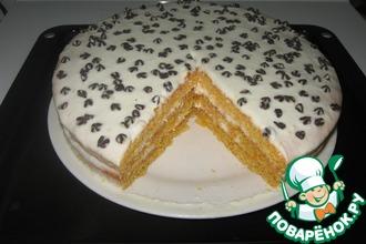 Рецепт: Морковно-лимонный торт
