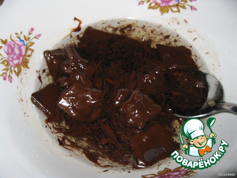 Творожный торт с шоколадом