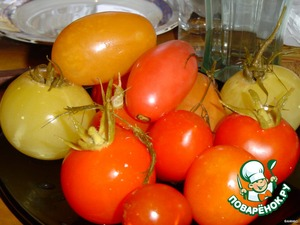 Помидоры малосольные – кулинарный рецепт