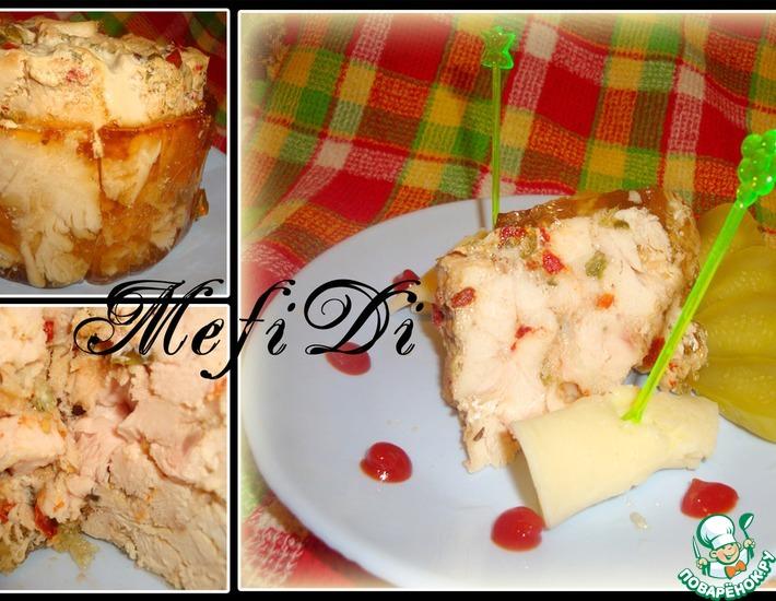 Рецепт: Куриный торт
