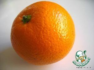 Разделка апельсина
