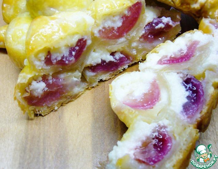 Рецепт: Пирог Калифорнийская гроздь