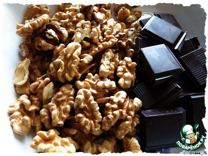 Шоколадно-орехово-Амареттный торт