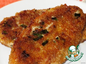 Куриные котлетки с сыром и грецким орехом – кулинарный рецепт