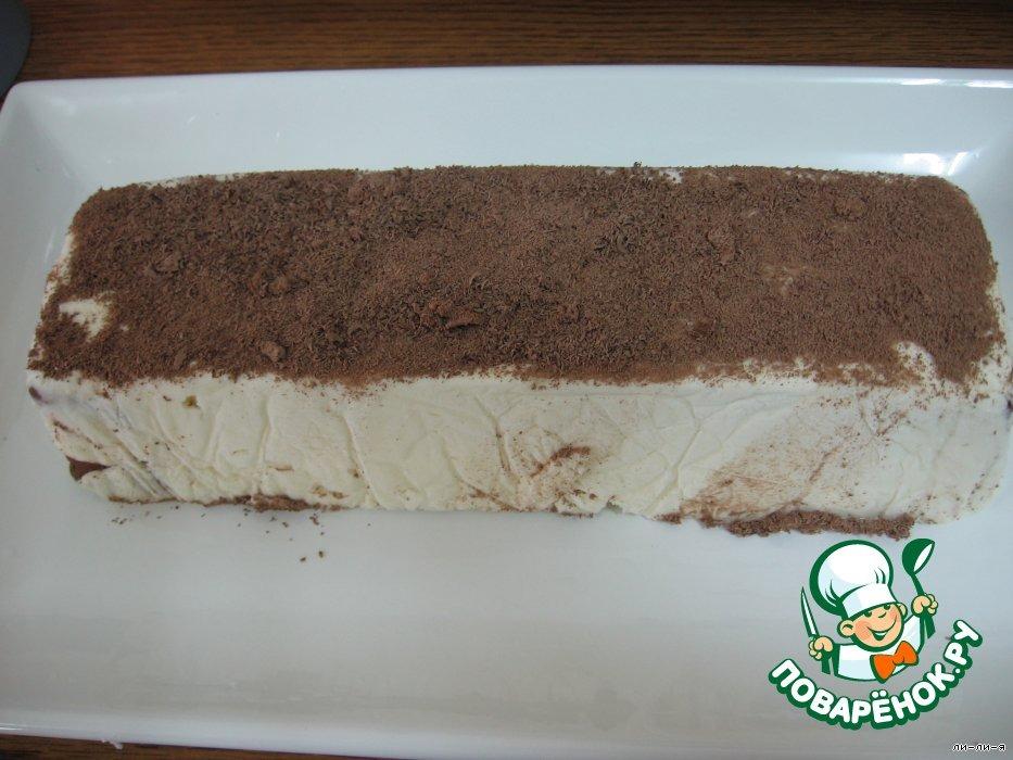 """Торт творожный """"Зебра"""""""