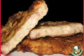 Рецепт: Куриная отбивная для лентяек