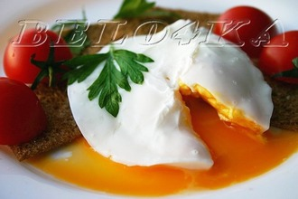 Рецепт: Варка яйца в СВЧ