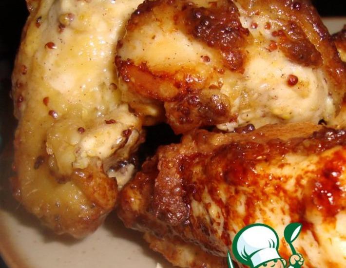 Рецепт: Курица, маринованная по-американски