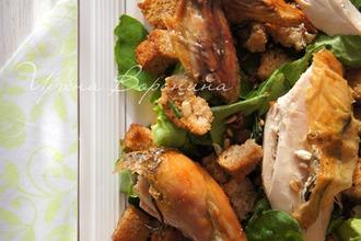 Рецепт: Жареная курица в стиле Зуни Кафе
