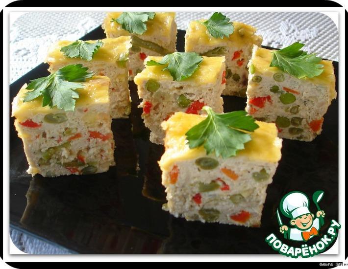 Рецепт: Куриный террин с овощами