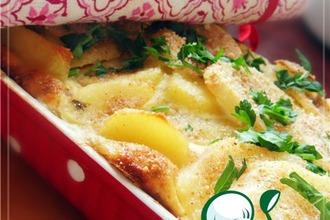 Рецепт: Курица, запеченная с картофелем