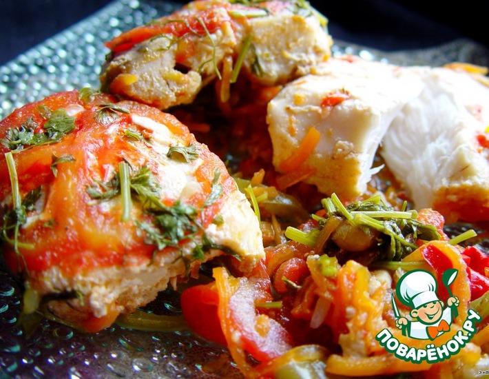 Рецепт: Рыба по-мароккански
