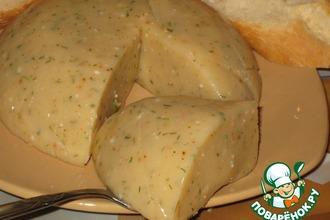 Рецепт: Сыр домашний «Пикантный»
