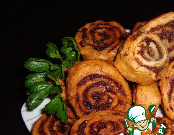 Рецепт: Пирожки со вкусом чебуреков