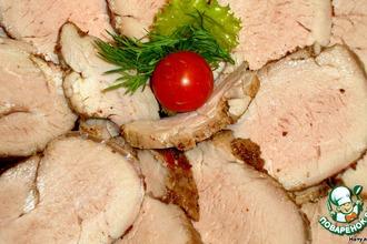 Рецепт: Пастрома из свиной вырезки