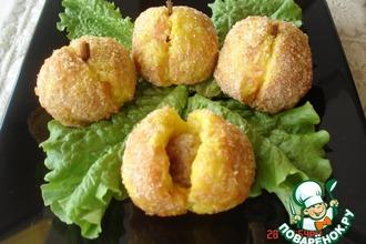 Рецепт: Картофельные персики