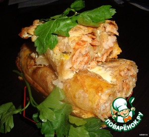 Baked rolls,