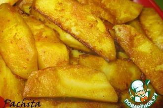 Рецепт: Картофель Соты