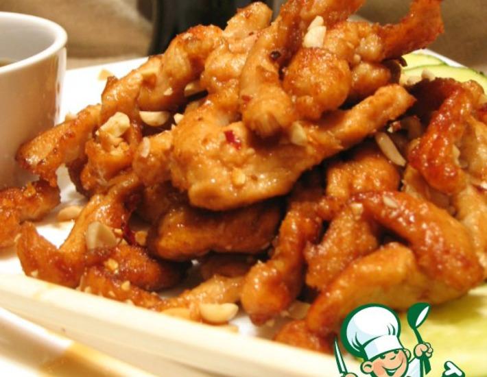 Рецепт: Цыпленок Кунг-Пао