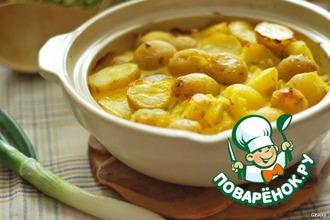 Рецепт: Картофель по-княжески