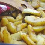 Картофель, запечeнный с имбирeм и чесноком