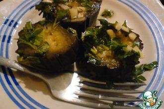Рецепт: Баклажаны квашеные