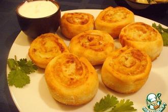 Рецепт: Завитушки с картофелем