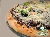 Тесто для тонкой пиццы Как Пицца Хат ингредиенты