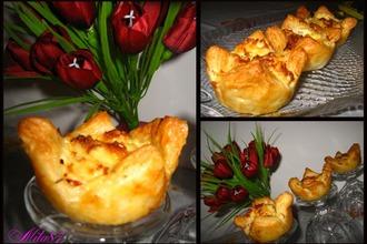 Рецепт: Закусочные Тюльпаны