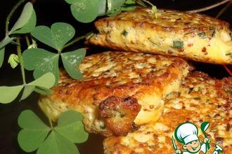 Рецепт: Вегетарианский стейк из сыра