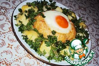 Рецепт: Горячее блюдо Царский ужин