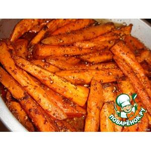 Острая запеченная морковь
