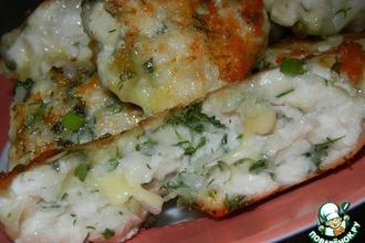 Рецепт: Куриные рубленые котлеты с сыром