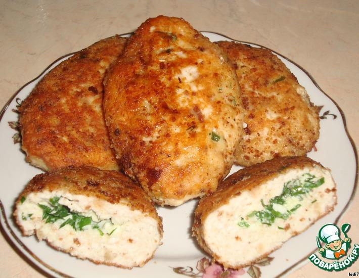 Рецепт: Куриные зразы