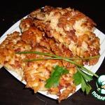 Котлеты из макарон и колбасного фарша