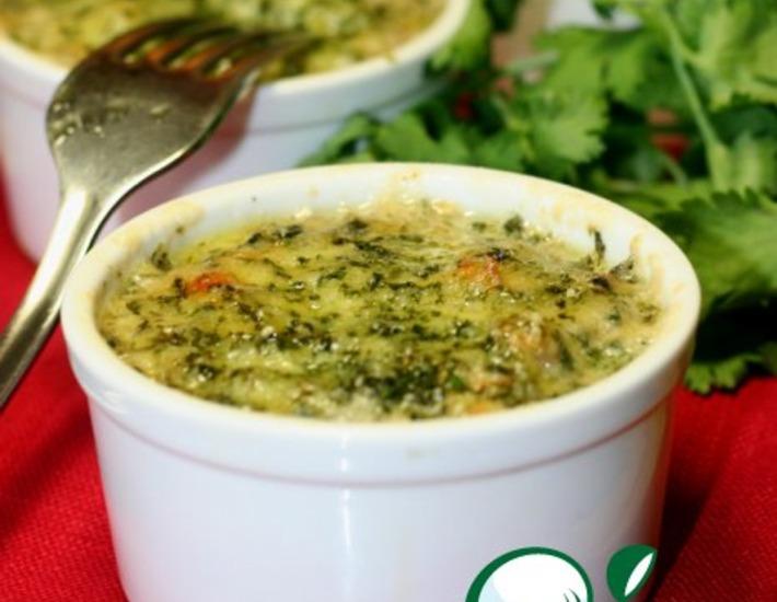 Рецепт: Жюльен из баклажанов и кабачков