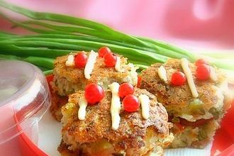 Рецепт: Луковое пирожное Чиполлино