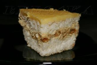 Рецепт: Рисовая запеканка Воздушная