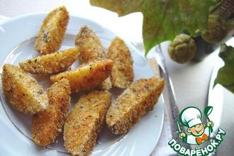 Рецепт: Картофель в хрустящей корочке