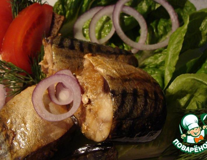 Рецепт: Закуска из рыбы Золотистое удовольствие