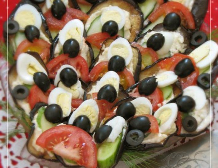 Рецепт: Закуска Павлиний хвост